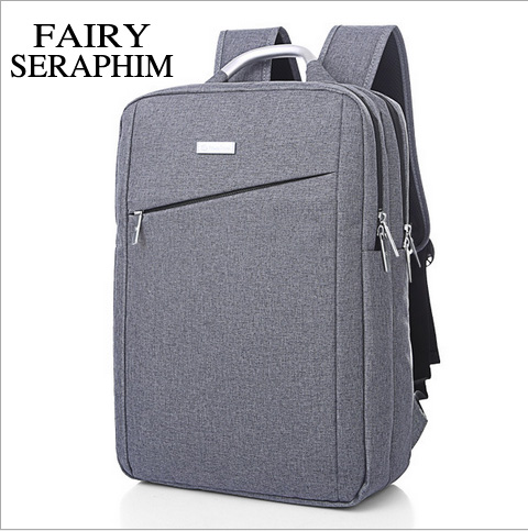 FAIRY SERAPHIM New arrival luxury casual business travel bag men women high fashion computer backpack students solid rucksackFAIRY SERAPHIM New arrival luxury casual business travel bag men women high fashion computer backpack students solid rucksack