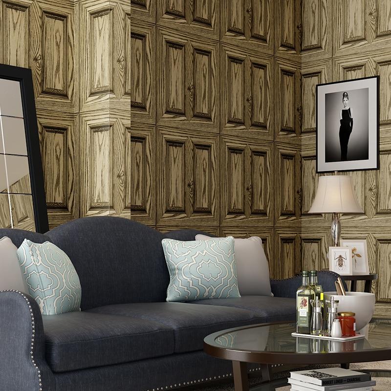 Wallpaper Pvc Wallpaper Wood Design Wall Paper Roll For