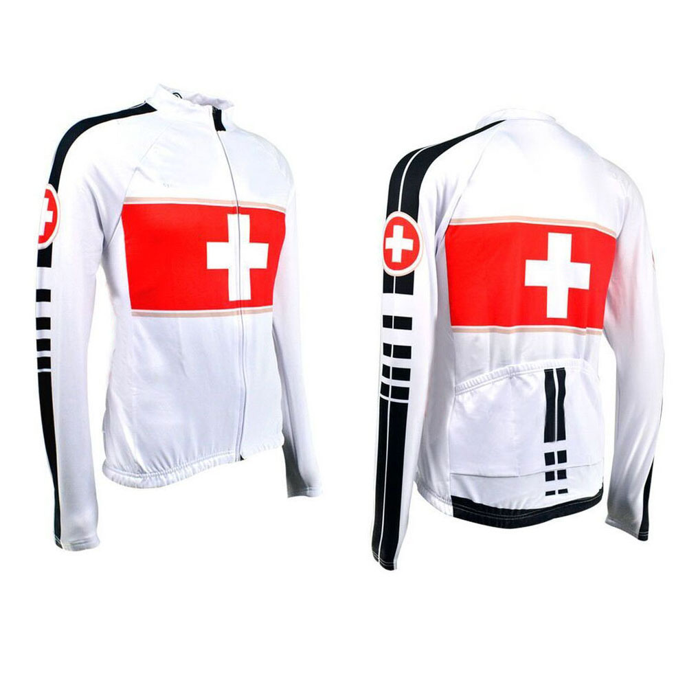 Jersey Cycling-Jackets Bicycle-Wear Italy Back-Pockets Switzerland High-Quality Ciclismo