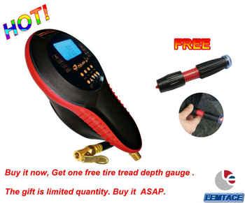 LEMATEC Auto High Quality Digital Tire Inflation Gun Auto Air Inflator Gun Car motorcycle Bicycle Tire Pressure Gauge