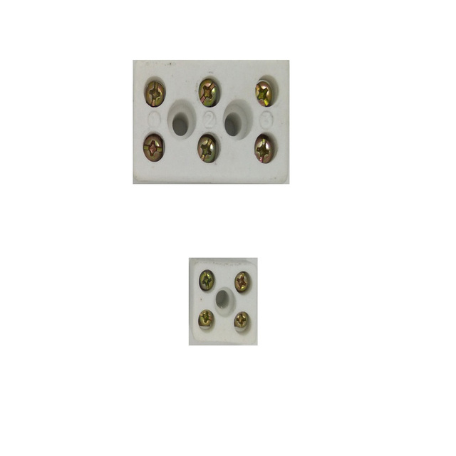 100pcs high temperature ceramic terminal block wiring terminal block rh aliexpress com
