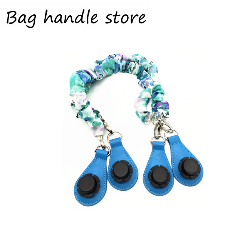 65 Cm Blue Silk Bag Handle For Obag Beach Bag Handles Women Bag