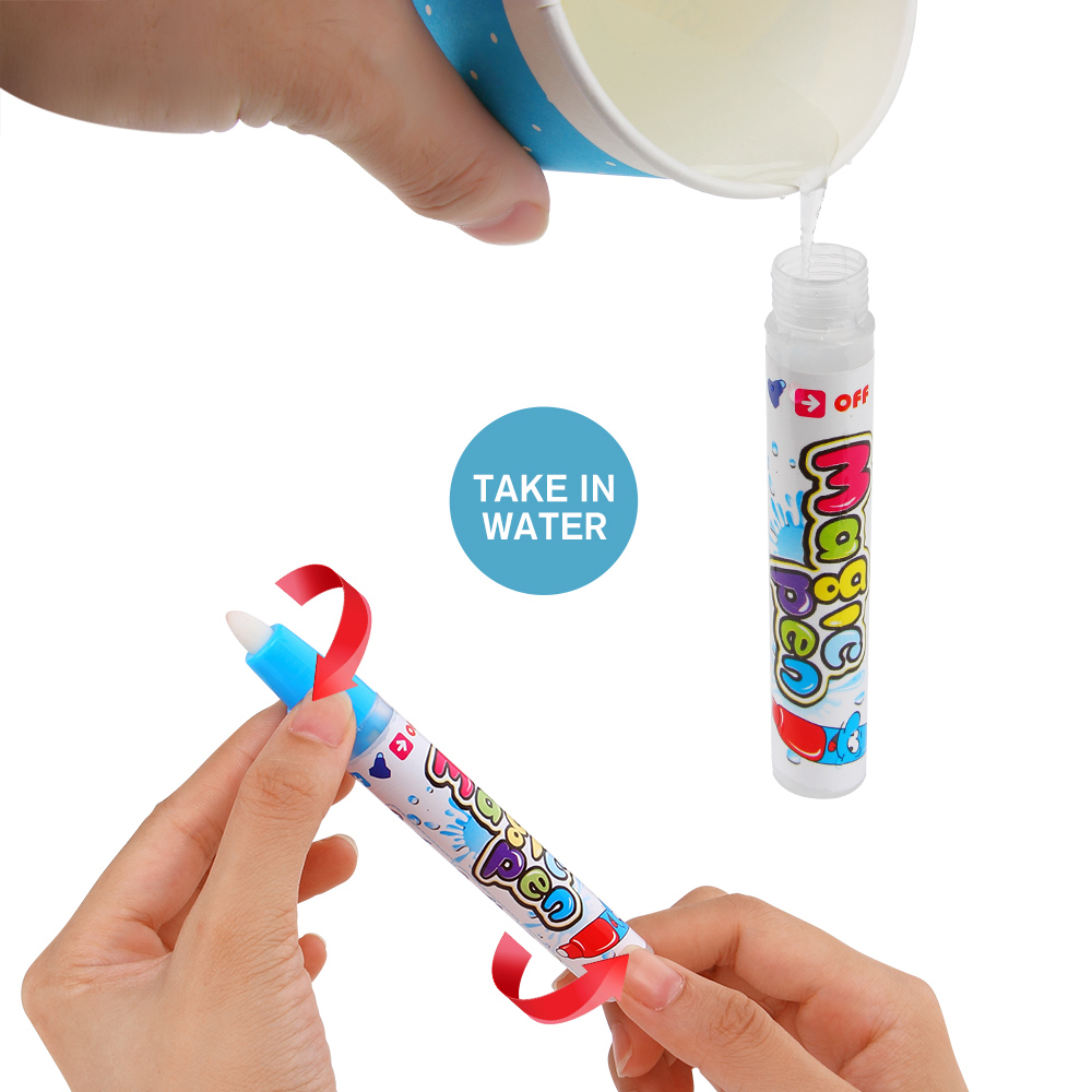 Magic-Water-Drawing-Book-Coloring-Book-Doodle-With-Magic-Pen-Painting-Drawing-Board-Coloring-Book-For-Kids-Toys-Toy-NO-BOX-2