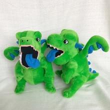 Игра Tribe Conflict Periphery COC зеленый дракон детские плюшевые игрушки мультфильм куклы динозавров 30 см
