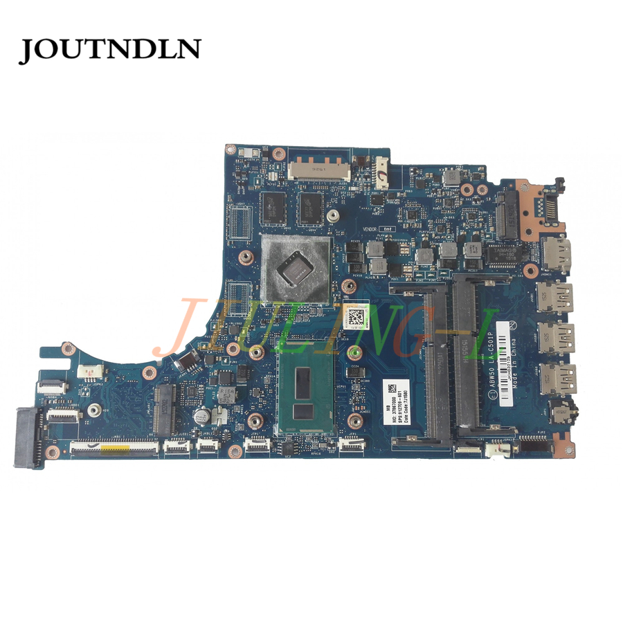 JOUTNDLN FOR HP ENVY 15-AE ABW50 Laptop Motherboard 812709-601 LA-C501P w/ I5-5200U CPU and 940m GPU