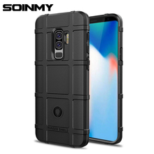 ФОТО soinmy shockproof armor phone case for galaxy s9 plus silicone soft tpu matte 360 full cover for samsung s8 plus s9+ s8+ fundas