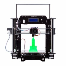 Новейшие MK8 Акриловые Reprap Prusa I3 3D Принтер с ЖК-Экраном и DIY Комплекты