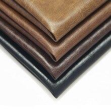 Искусственная из искусственной кожи ткань искусственная Синтетическая кожа необработанный листовой материал DIY сумка для обуви Личи узор украшения 50*140 см