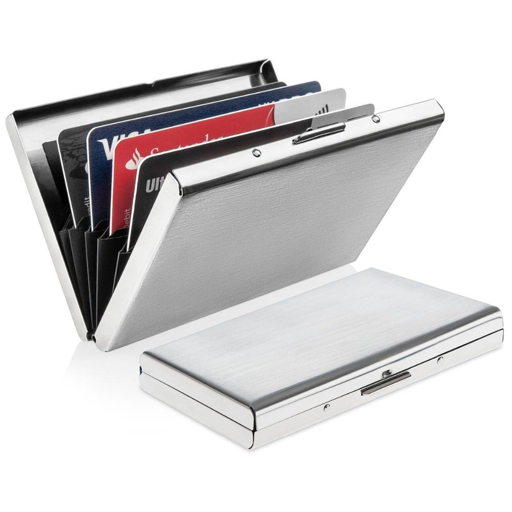 Luxury Stainless Steel Slim Men Business Credit Card ...