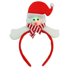 Light Blinking LED Santa Claus Headband Fancy Dress Up Costume Children Kids Adult Natal Navidad