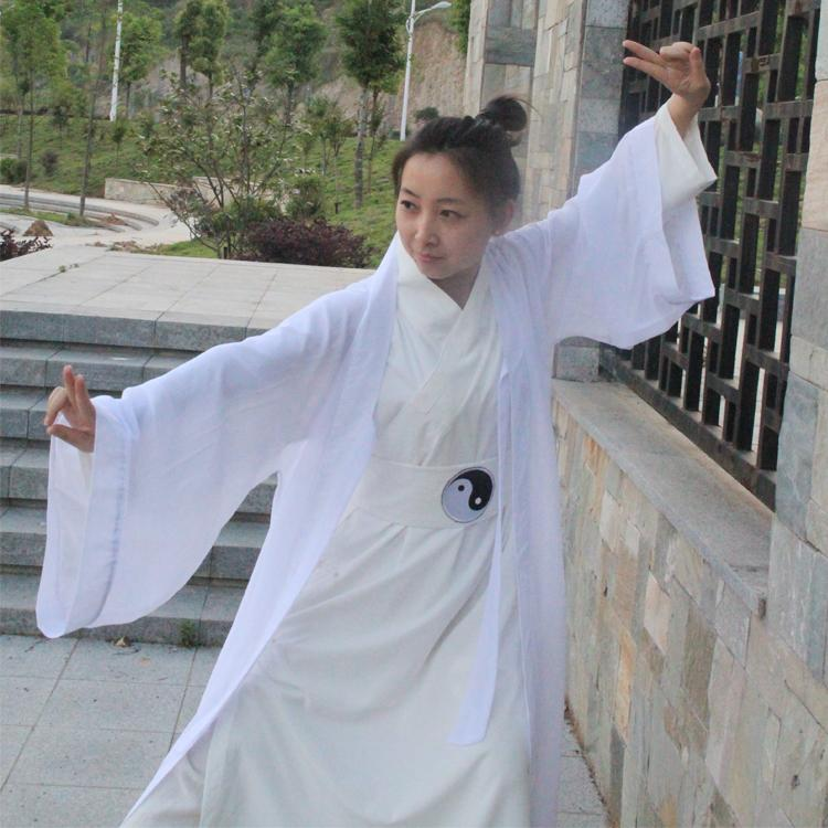 Unisex Wudang Clothes Taoist  Tai Chi Tao Pao Three Suit  Clothing Free Shipping
