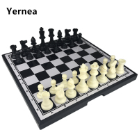 Extra Large Plastic Magnetie Chess Chess magnetic Board Game Entertainment Chess Pieces Christmas Birthday Gift Yernea