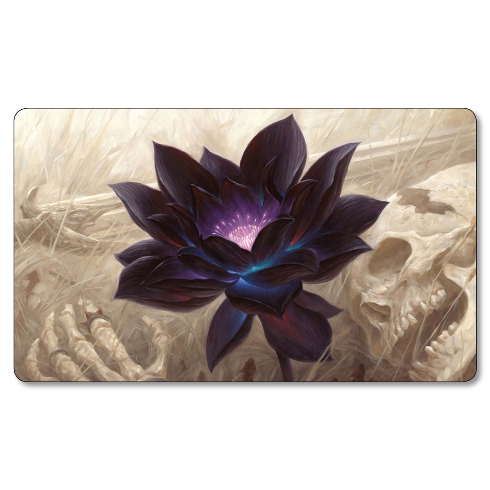 Magic Black Lotus Playmat Board Table Pad The Great Wave Lands Game