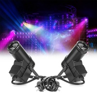 RGBW LED Stage Light DMX 10W Pinspot Light Beam Spotlight 6CH Professional LED Stage Lighting Effect