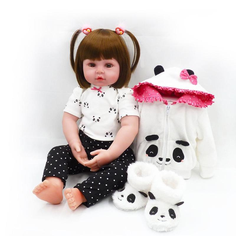 7 Styles Fashion Simulation Cute Reborn Baby Doll Girls Lifelike Silicone Playmate Soft Toy Gift Photography Props7 Styles Fashion Simulation Cute Reborn Baby Doll Girls Lifelike Silicone Playmate Soft Toy Gift Photography Props