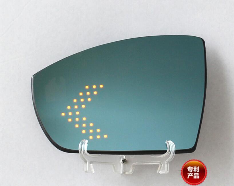 JIOYNG pour Ford Kuga Ecospor chauffage bleu grand angle multi-courbure LED clignotant flèche lampe chaleur porte rétroviseur