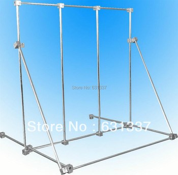 Laboratory Multi-Function Physical Test Support Stand Base 70x70cm Aluminum