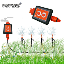 NEW 2019 Simple Knob Irrigation Intelligent Timer Strong Waterproof Micro-sprinkler Irrigation Controller timer garden automatic rotary knob water timer automatic electronic watering timer valve irrigation sprinkler controller for micro drip irrigation