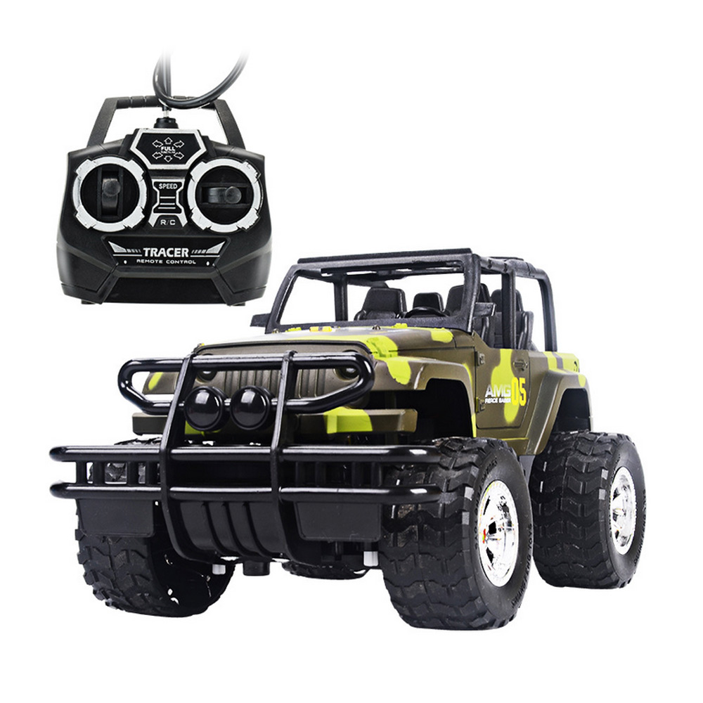 kids baby toy childrens toys 124 drift speed radio remote control rc jeep off road vehicleheadlight rc car baby toys gift fci