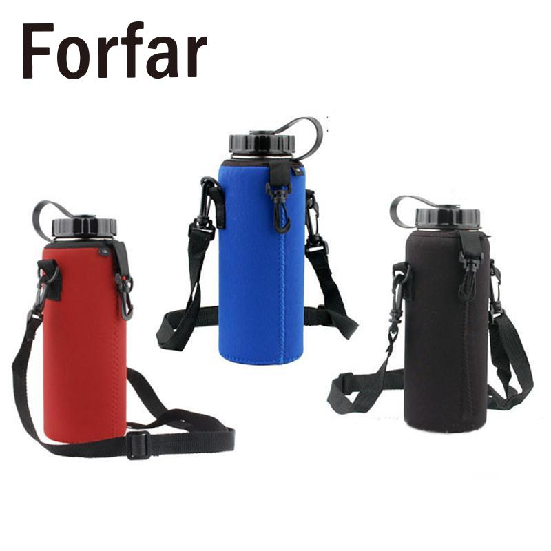 Forfar 1000ML Water Bottle Carrier Insulated Cover Bag ...