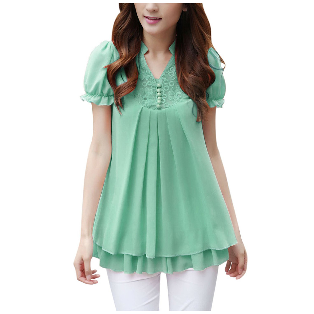 Women's Fashion Blouses Spring Summer