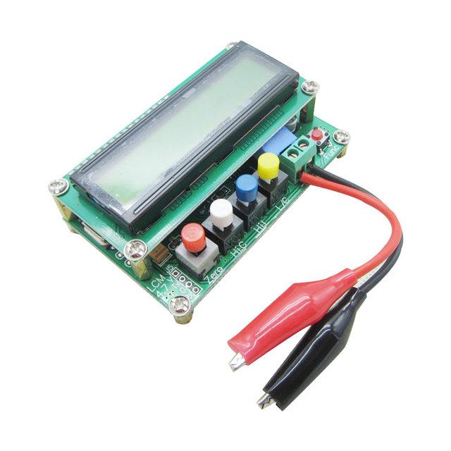 Mesa digital de alta precisão indutância capacitância LC100-a LC100A LC100-s indutância capacitância medidor