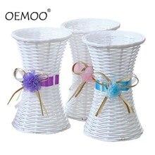 Цветочная ваза ручной работы Цветочная корзина украшение дома Цветочная ваза горшки подарок
