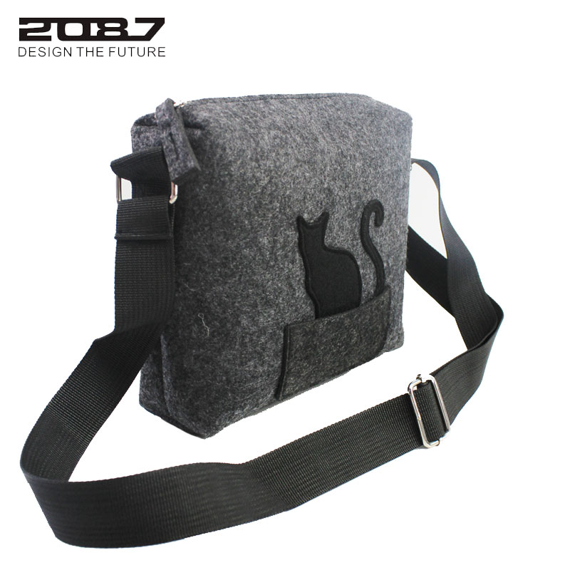 cat engraçado ombro bolsa Bag Name : Small Messenger Bags Sb6247