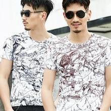 Mens Tshirts Summer Fashion Printed Funny T Shirt Homme Short Sleeve Casual Hip Hop T Shirt Men Cotton Tshirt Streetwear Man TX3 цены