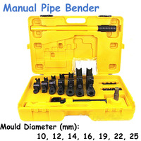 Manual Pipe Bender Hand tube U bending tools, iron/steel/copper/aluminum tube bender SWG 25