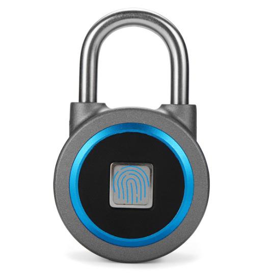 Bluetooth Round Lock with Fingerprint