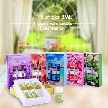 Aceites aromáticos esenciales para masaje, aceites rosas, aceite esencial de lavanda para difusores de aromaterapia, fragancias de masaje, aceite de limón y Océano