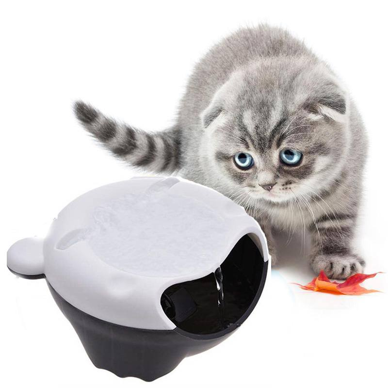 Mute Usb Pet Automatic Circulation Drinking Fountain Hygienic Electric Water Dispenser Providing Flowing Water For Pet