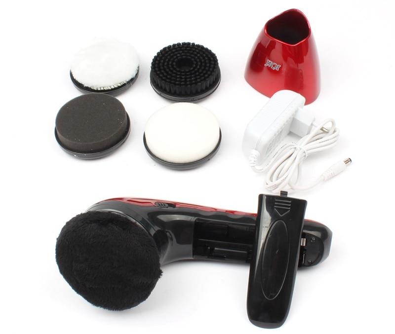 JIQI бытовой электрический мини полировщик обуви ручной Портативный Кожа полировочное оборудование Автоматическая машина для очистки