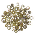 [PCMOS] 50g a Pack Steampunk Cyberpunnk Mix Cogs Watch Parts Gears DIY Craft Accessory Jewelry Creative Fashion 16040915