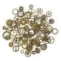[PCMOS] 50g un Paquete Steampunk Cyberpunnk Mezclar Piezas de Reloj de Engranajes Engranajes Arte de DIY Accesorios de Joyería de Moda Creativa 16040915