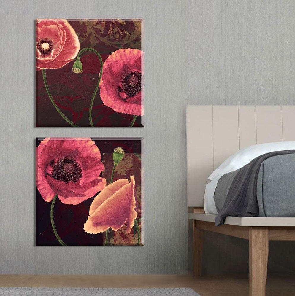 2015 neue Amerikanische Poppies blumen dekorative bilder leinwand ...