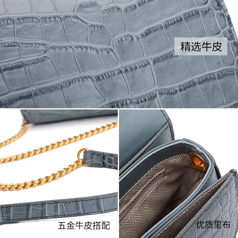 Luxo mini rodada saco Mulheres Bolsa do Couro Genuíno cadeia de Mulheres do desenhador Sacos Do Mensageiro Do Ombro Pequena Bolsa Da Embreagem Bolsa bolsos mujer - 6