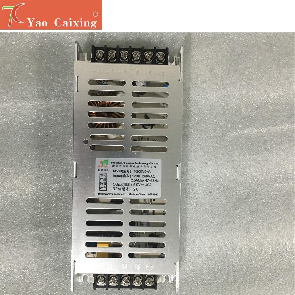 Slim Switch Power 220v-5v40a200w Power Supply Control P2 P2.5 P3 P4 P5 P6 P8 P10 Rgb Dot Matrix Led Panel Display Screen Module