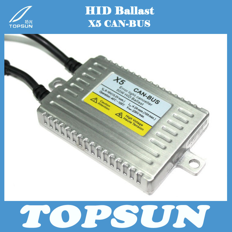 GZTOPHID 12V 50W DLT X5 HID Electronic CAN-BUS Ballast Error Light Canceller, Compatible with ECU, Can Solve All Cars Problem free shipping 2 pcs best price best quality 50w can bus hid xenon x5 dlt ballast error canceller slim ballast