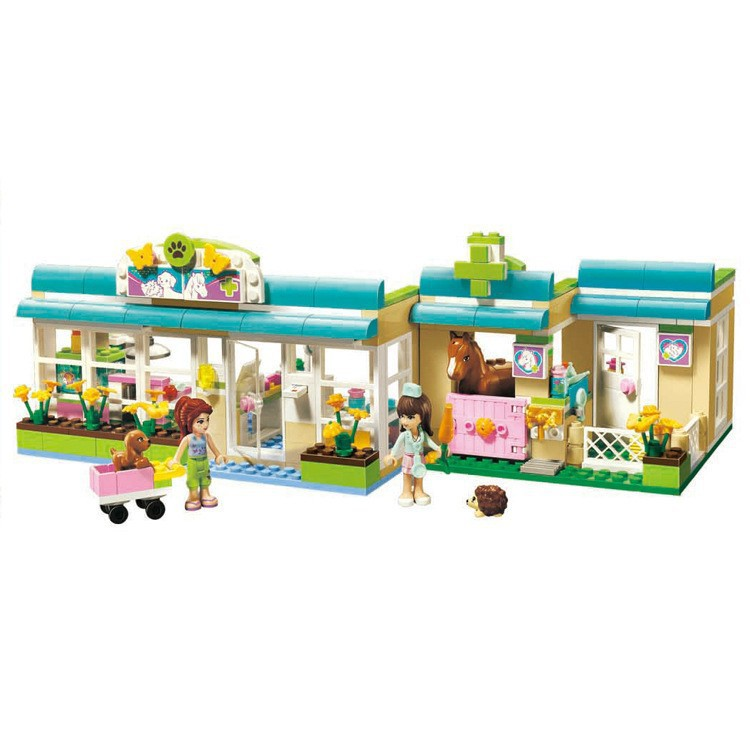 ФОТО Bela 10169 Girls Friends Set Series Heartlake Vet Mia Sophie Building Blocks Model Bricks Sets Toys Compatible With Legoe