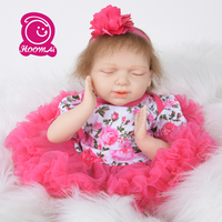 New Arrival Kawaii 22 Baby Reborn Doll Baby Angel Doll Mohair Wholesale Reborn Baby Kit Kids bedtime Brinquedos