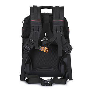 Image 3 - NOVAGEAR 80805 Large space Trolley case  DSLR waterproof backpack multifunction camera bags For Canon/Nikon Camera