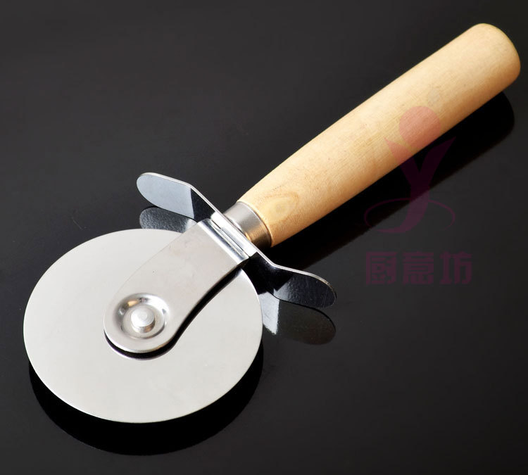 Stainless Steel Pizza Knife Cutter Pastry Pasta Dough ...