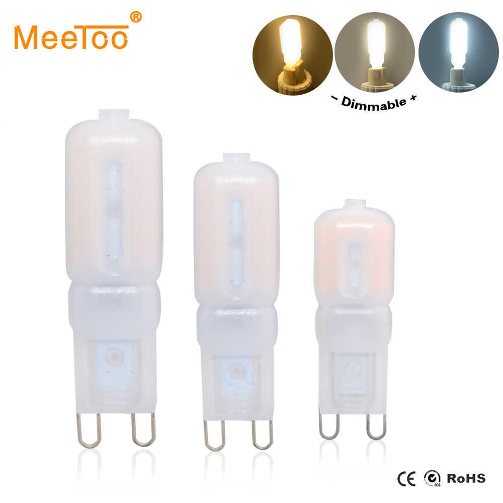 G9 LED Lamp 5W 7W 9W LED Light Bulb AC 220V 110V Chandelier SMD2835 High Quality Ampule LED G9 Spotlight Replace Halogen Lamps