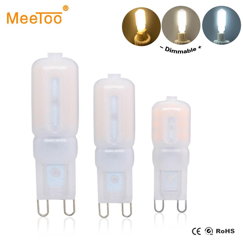 G9 lâmpada led 5 w 7 9 lâmpada led ac 220 v 110 v lustre smd2835 ampola led g9 spotlight substituir lâmpadas de halogéneo de alta qualidade