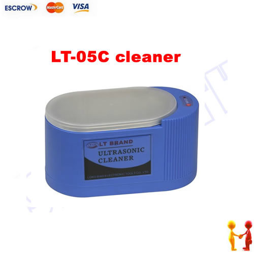 Freeshipping. LT-05C 35W/60W 220V Household Use Mini Ultrasonic Cleaner For Glasses and Jewelry