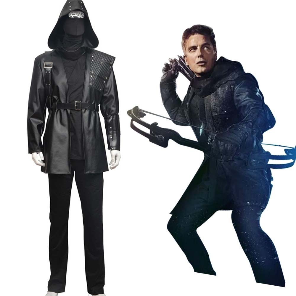 Green Arrow Cosplay Malcolm Merlyn Dark Archer Cosplay Costume Battle Suit Sets Halloween Carnival For Women Men Costume