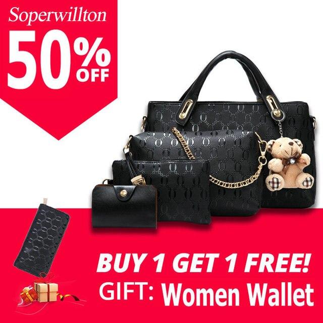 8ff7bd2bef Soperwillton sac pour femme Haut-poignée de sacs Femme Célèbre Marque 2019  sacs de postier