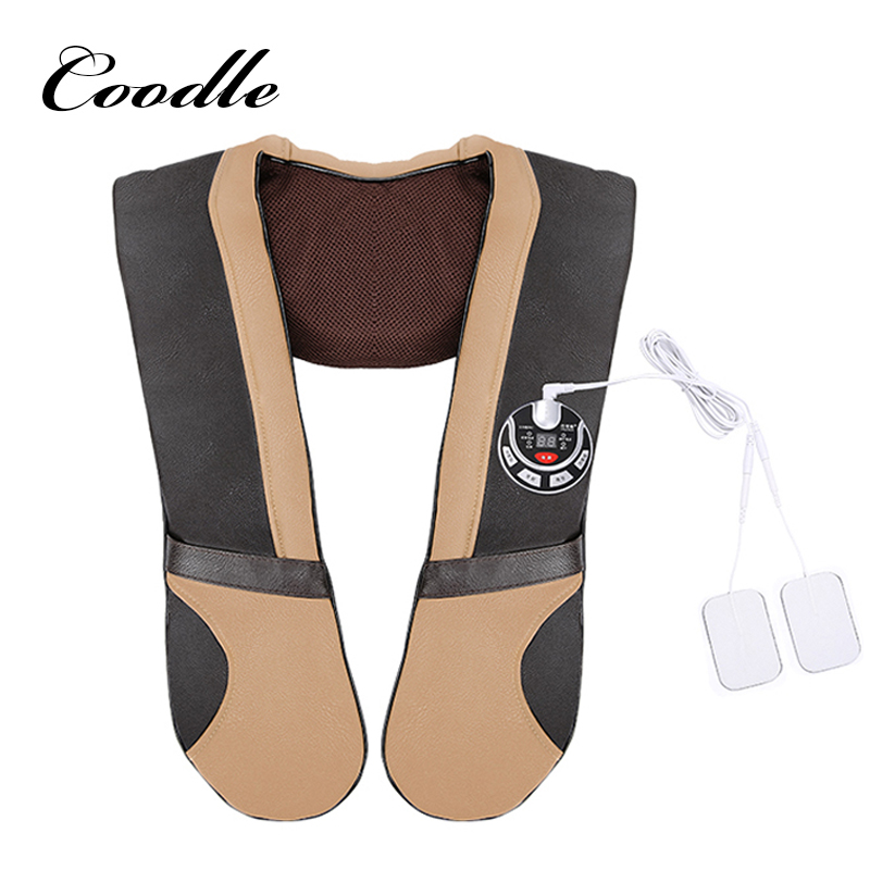 Massager Electric for Shawl Neck Infrared Heating Massage Device Back Body Shiatsu Massage Equipment Physiotherapy Equipment home health care instrument chinese body massage device neck massager red light heating kneading massage shawl 120804